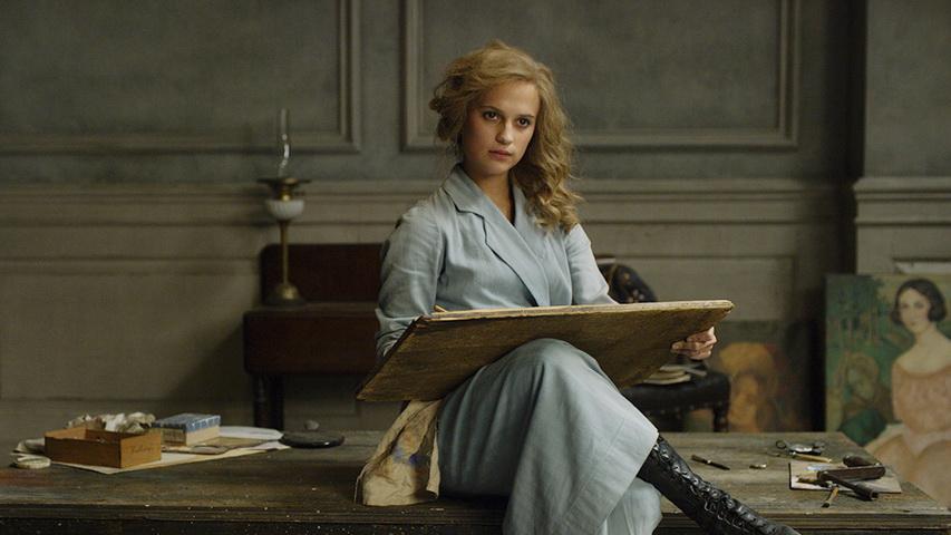 Кадр из фильма «Девушка из Дании»