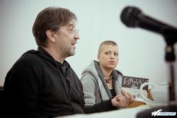 Юрий Шевчук и Алена Романова. Фото — Иван Клейменов