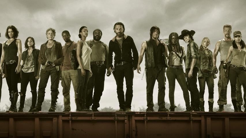 Постер к сериалу «Ходячие мертвецы». Изображение с сайта news.ts.kg