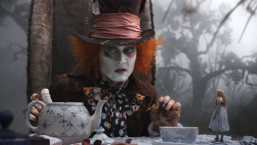 Кадр из фильма «Алиса в стране чудес» 2010 года
