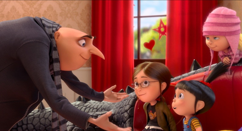 Кадр из мультфильма «Гадкий я 2»