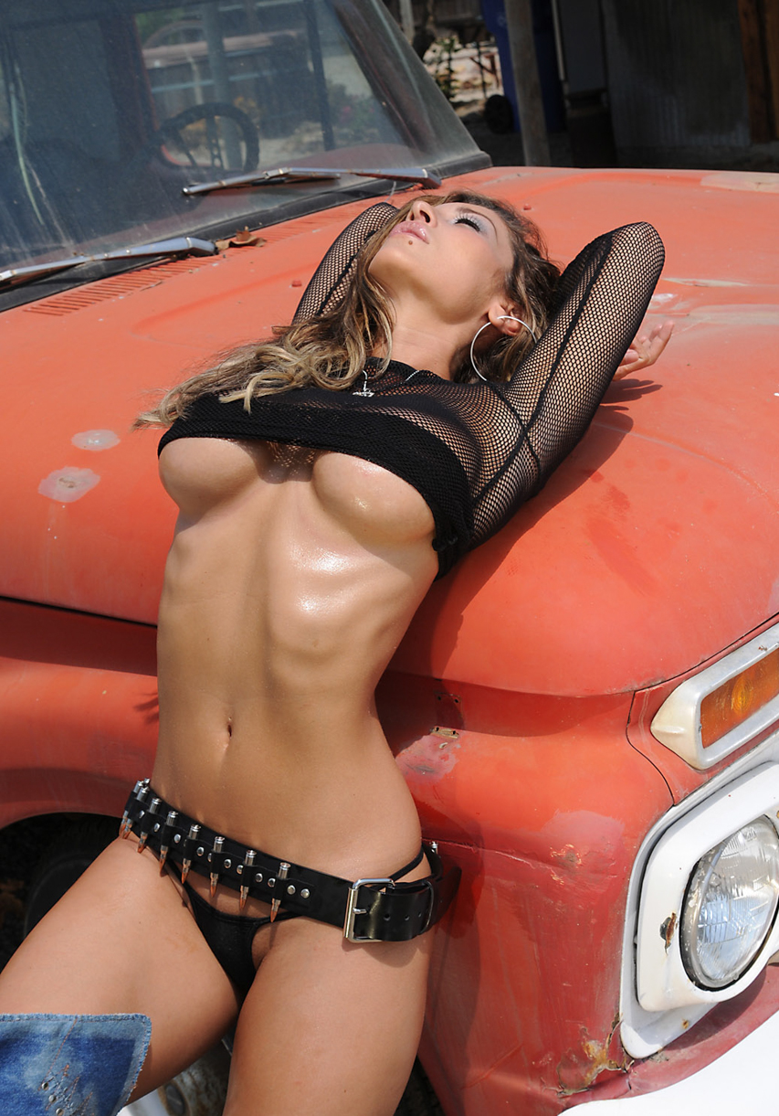 Girls tied up topless in cars train sex pussi