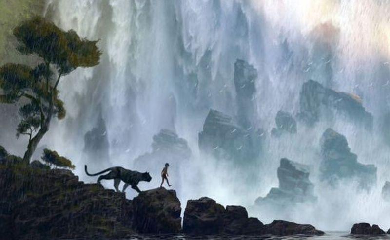 Концепт-арт к фильму «Книга джунглей»