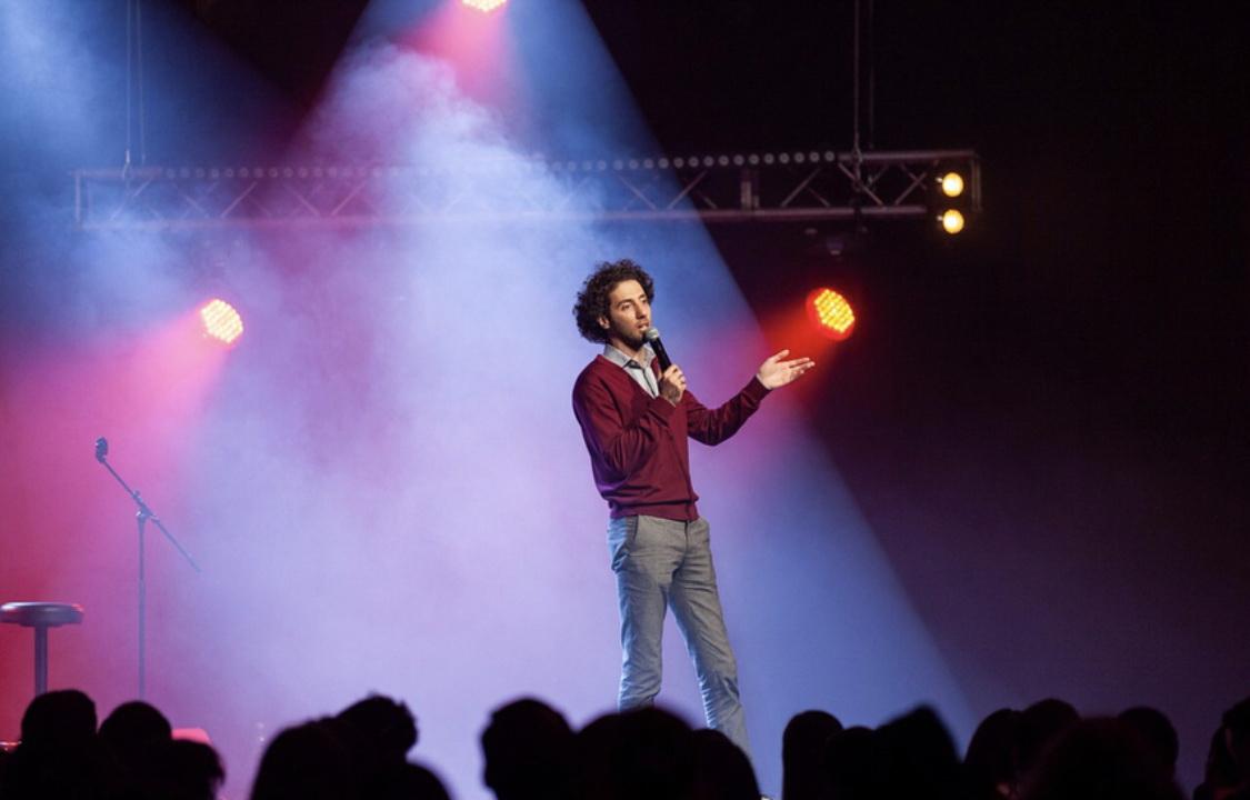 Фото с концерта Дмитрия Романова предоставлено организаторами