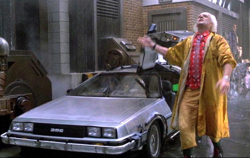 Кадр из фильма «Назад в будущее 2»