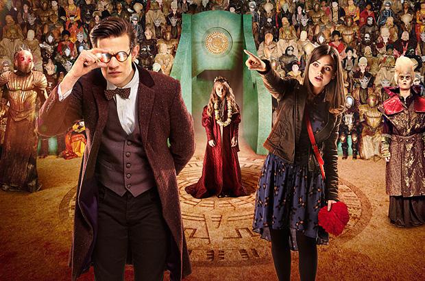 Постер 7 сезона телесериала «Доктор Кто»