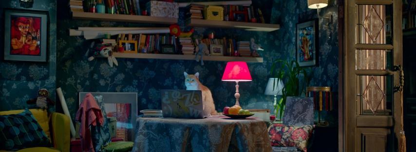 Кадр из фильма «Домовой»