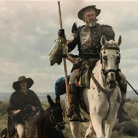 Кадр из фильма «Человек, который убил Дон Кихота»