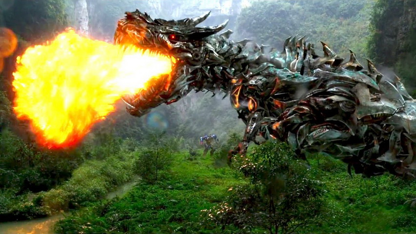 Кадр из фильма «Трансформеры 4»