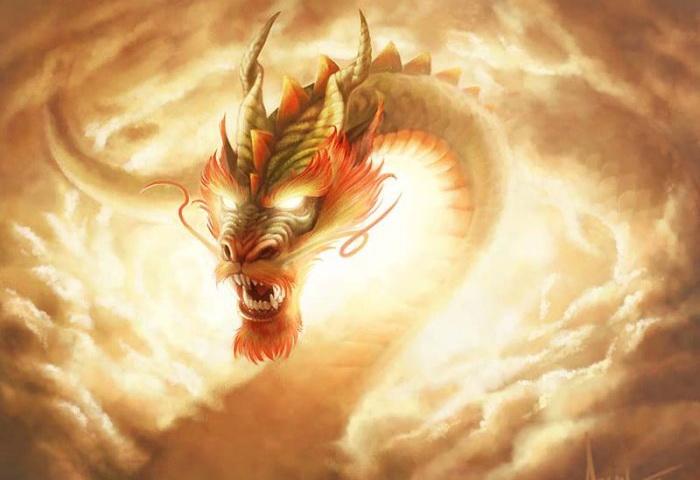 Дракон. Фото с сайта basik.ru