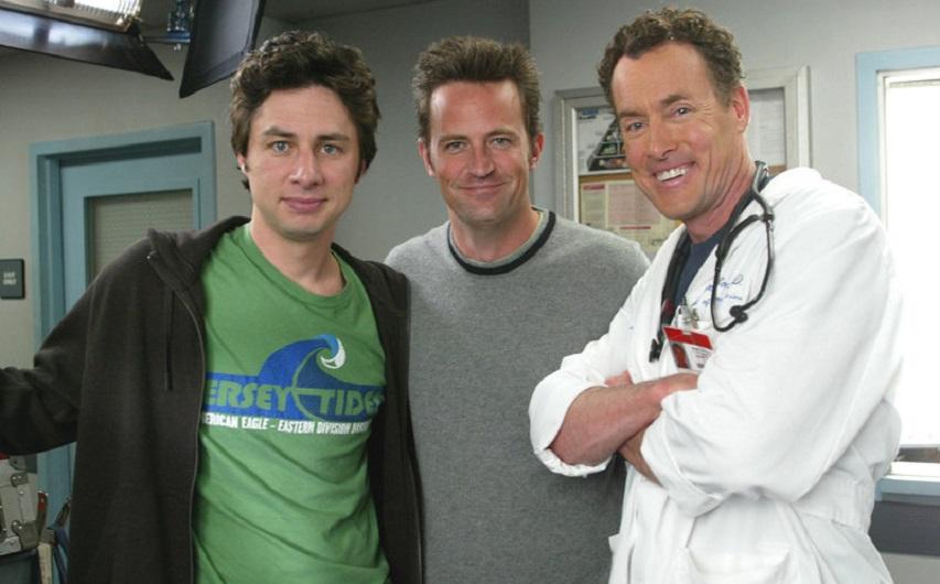 Кадр из сериала «Клиника»