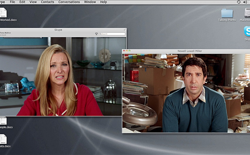 Кадр из сериала «Веб-терапия»