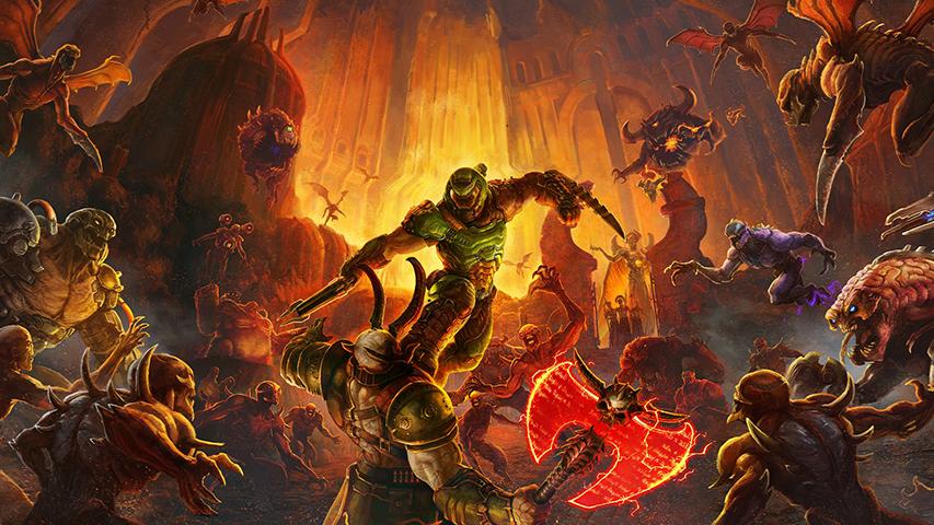Online-регистрация для первых частей Doom