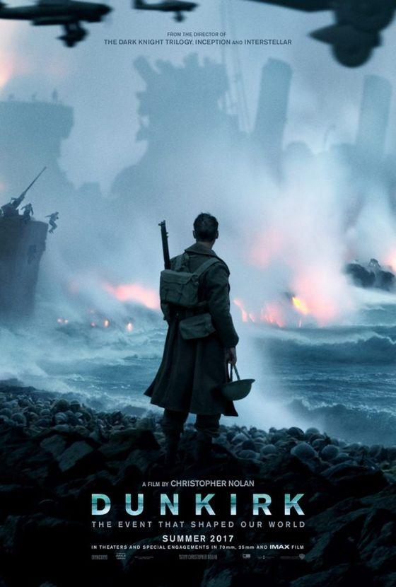 Постер фильма «Дюнкерк»