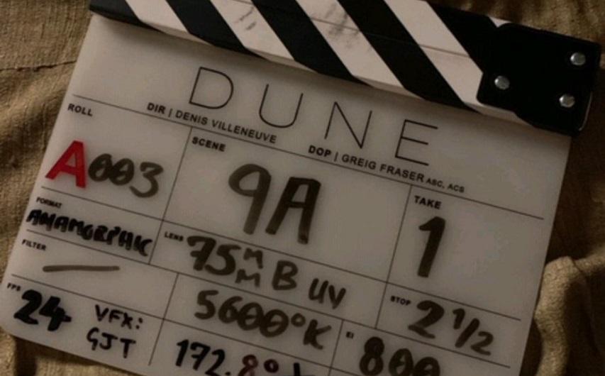 На съемках фильма «Дюна». Фото с сайта IMDB.com