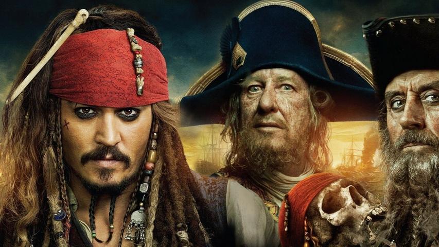 Пираты Карибского моря. Постер с сайта pinterest.com