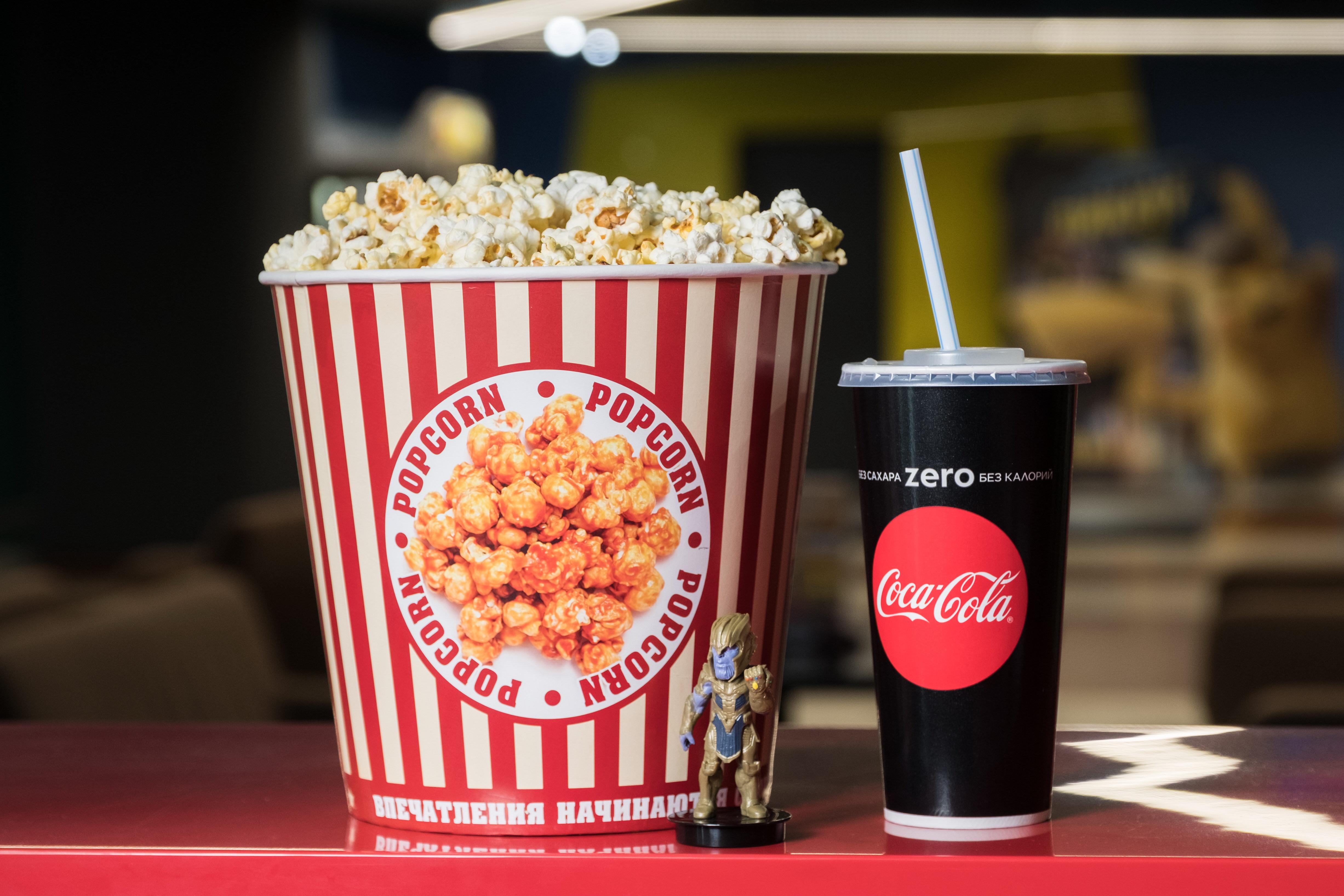 Фото с едой из кинотеатра предоставлено организаторами