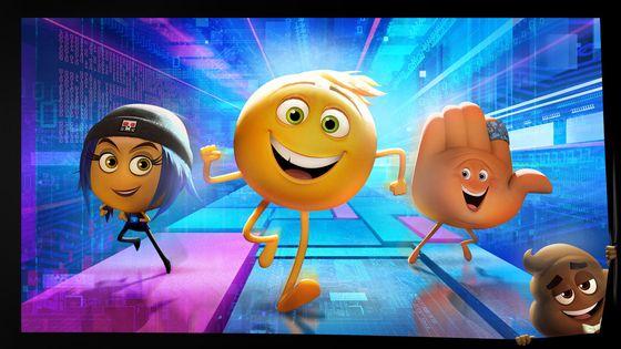 Кадр из мультфильма «Эмодзи»