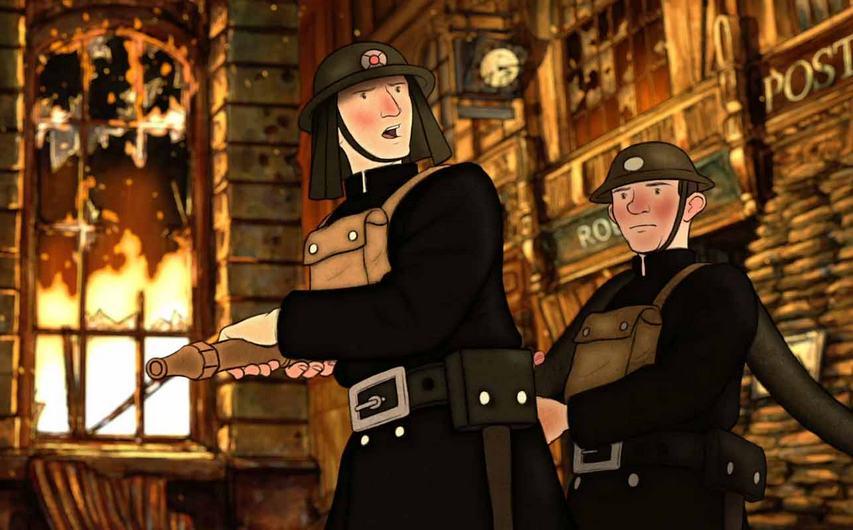 Кадр из мультфильма «Этель и Эрнест»