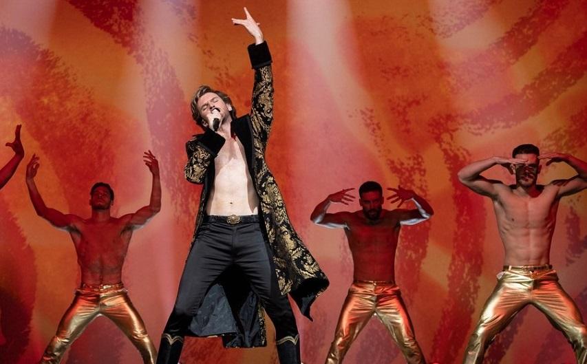 Кадр из фильма «Евровидение: История «Огненной Саги»