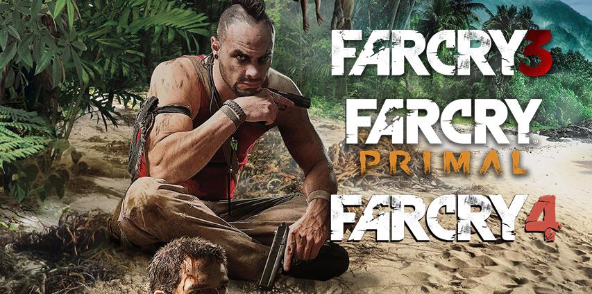 Far Cry 3, Far Cry 4 и Far Cry Primal