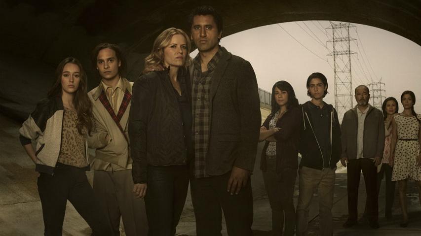 Постер к сериалу «Бойся ходячих мертвецов». Изображение с сайта enstarz.com
