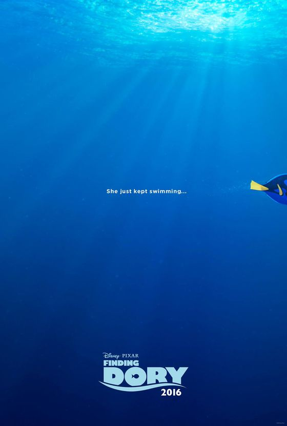 Постер мультфильма «В поисках Дори»