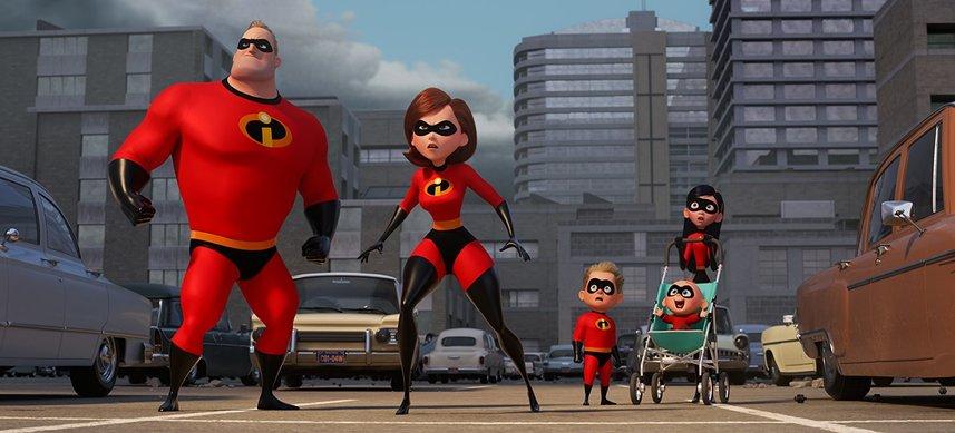 Кадр из фильма «Суперсемейка 2»