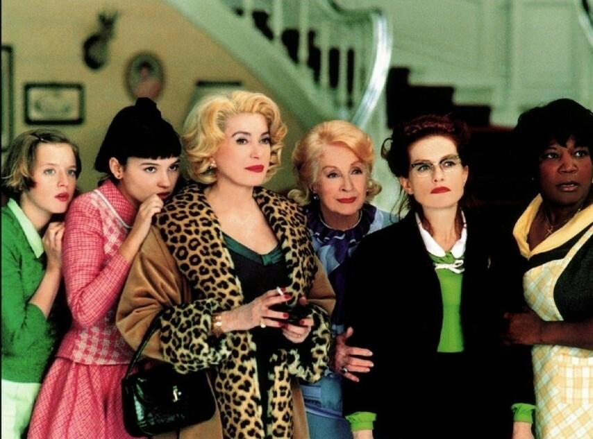Кадр из фильма «8 женщин»