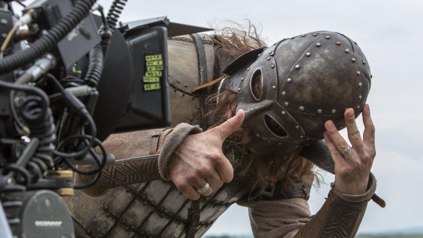 Съемки фильма «Викинг»