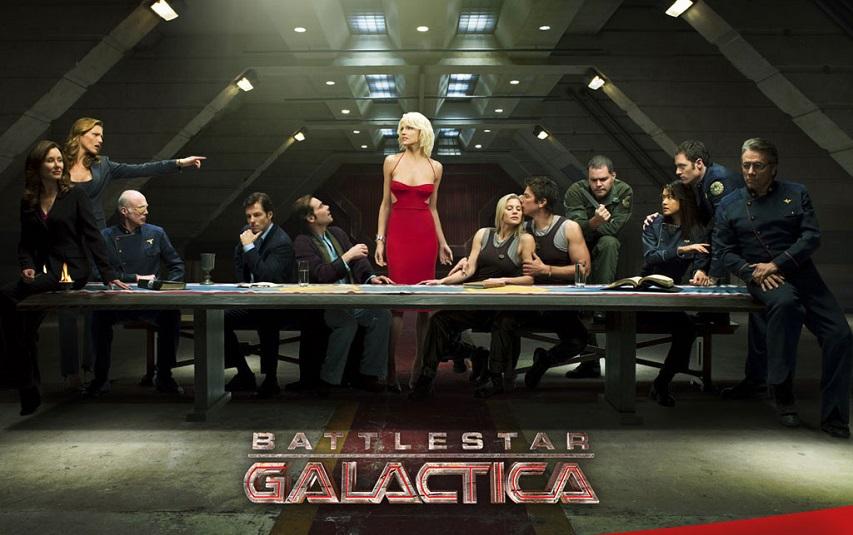 Промо сериала «Звездный крейсер Галактика»