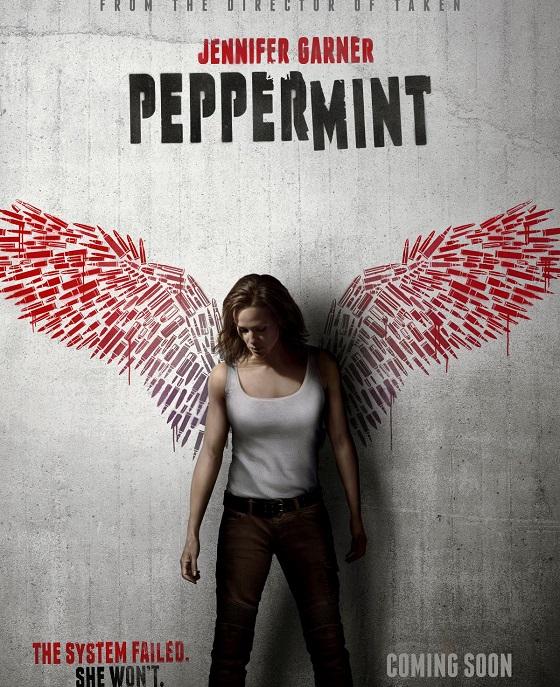 Постер фильма «Peppermint»