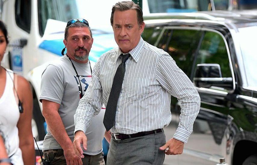 На съемках фильма «Газетчики». Фото с сайта film.ru