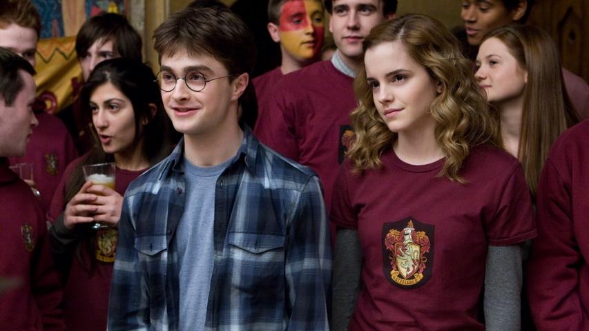 Кадр из серии фильмов про Гарри Поттера