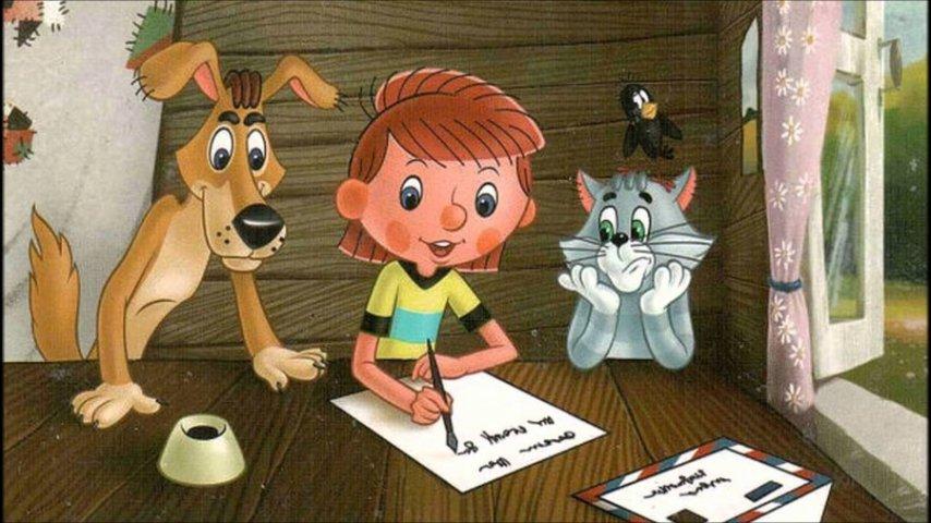 Кадр из мультсериала «Трое из Простоквашино»