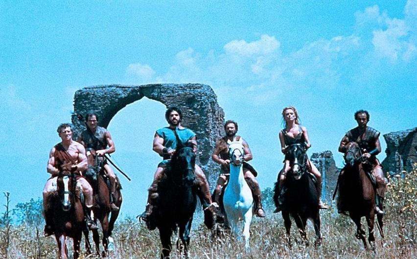 Кадр из фильма «Великолепная семерка гладиаторов»
