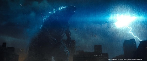 Кадр из фильма «Годзилла: Король монстров»