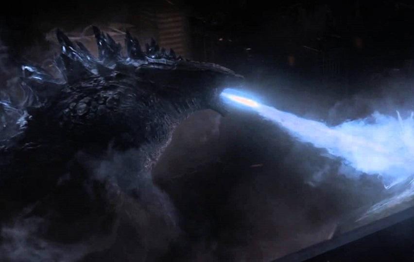 Кадр из фильма «Годзилла»