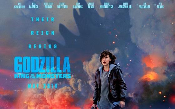 Постер фильма «Годзилла: Король монстров»