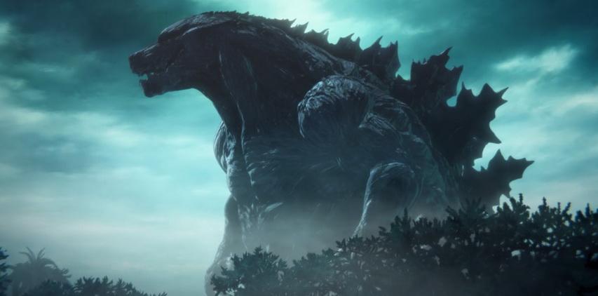 Кадр из фильма «Годзилла: Планета чудовищ»