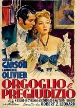 Постер к фильму «Гордость и предубеждение». 1940 год