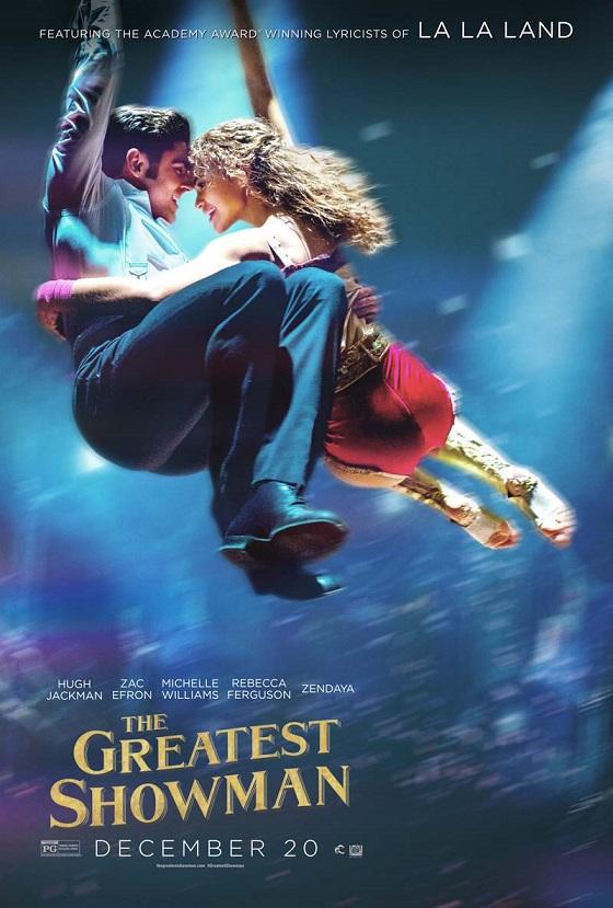 Постер фильма «Величайший шоумен»