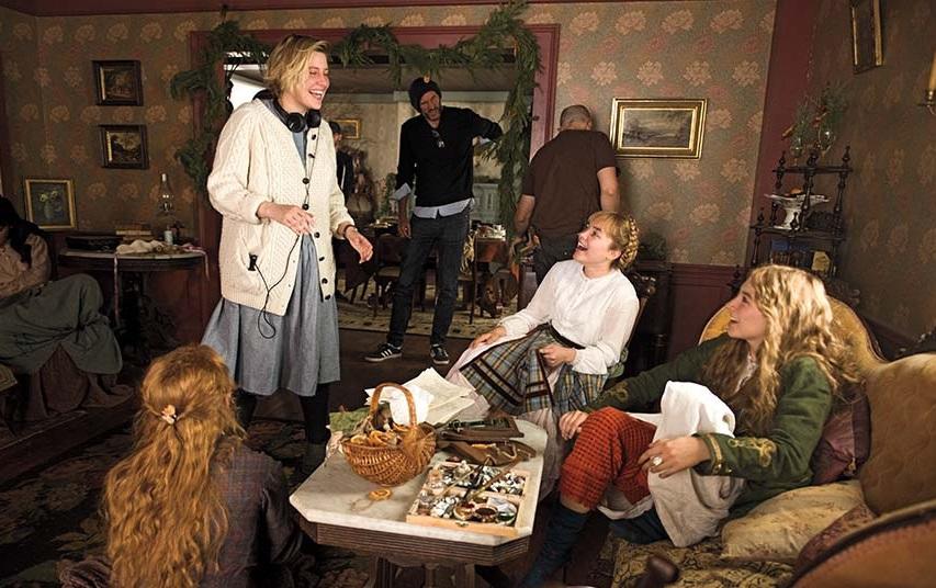 На съемках фильма «Маленькие женщины». Фото с сайта kinopoisk.ru