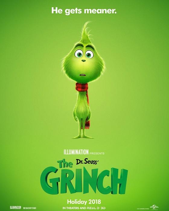 Постер мультфильма «Гринч, похититель Рождества»
