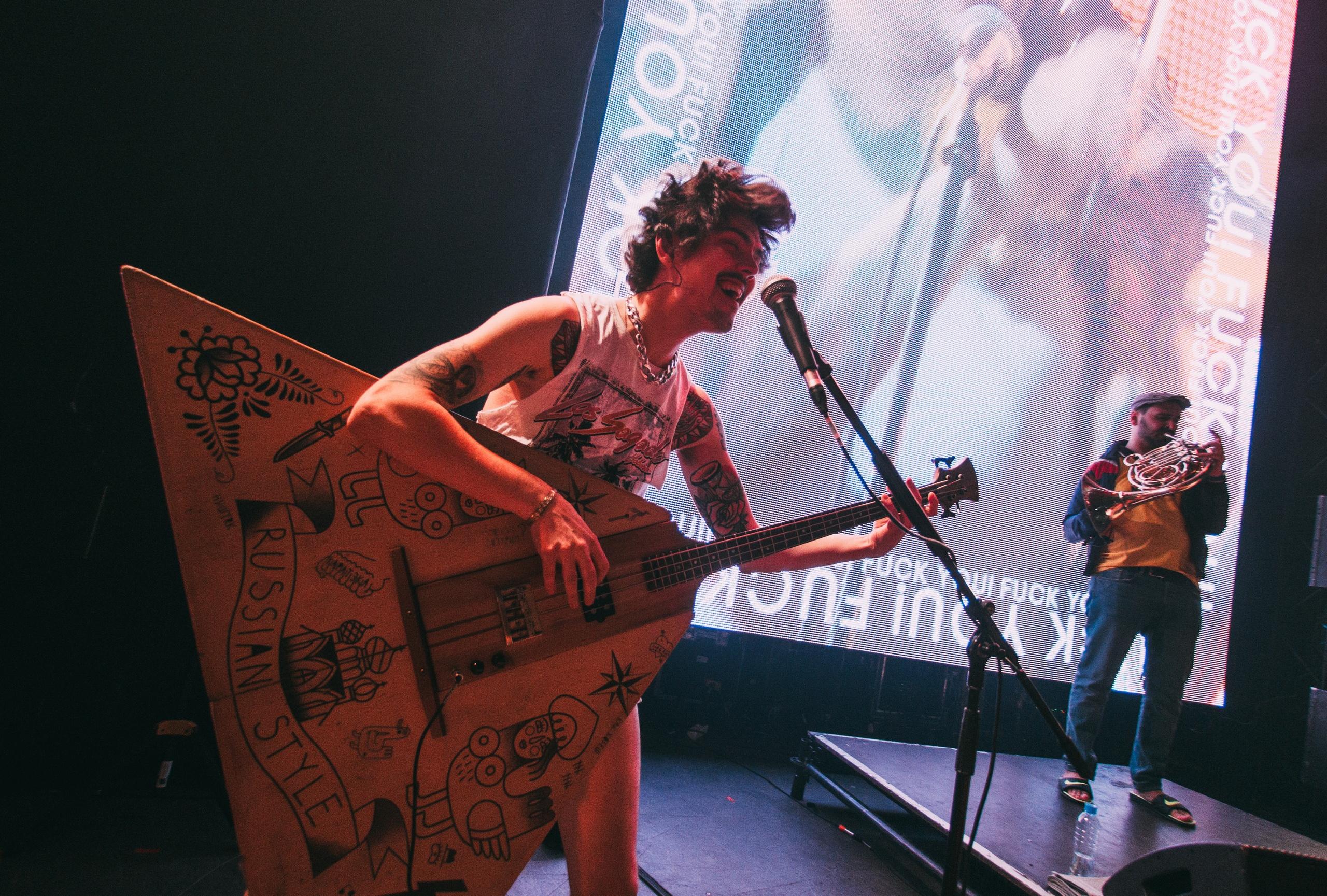 Фото с концерта группы The Hatters с сайта vk.com