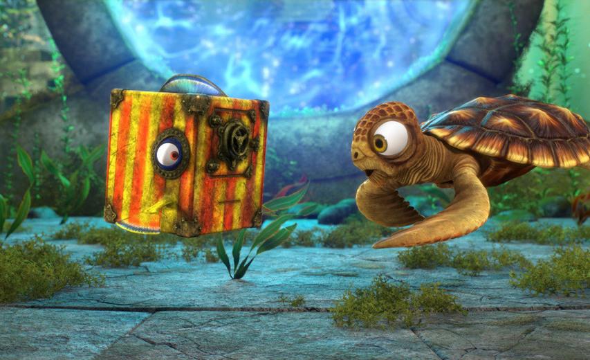 Кадр из мультфильма «Полное погружение»