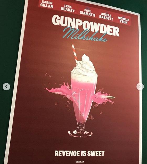 Постер фильма «Пороховой коктейль»