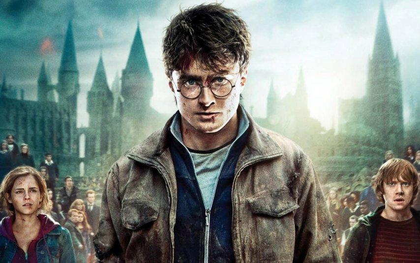 Постер фильма «Гарри Поттер»