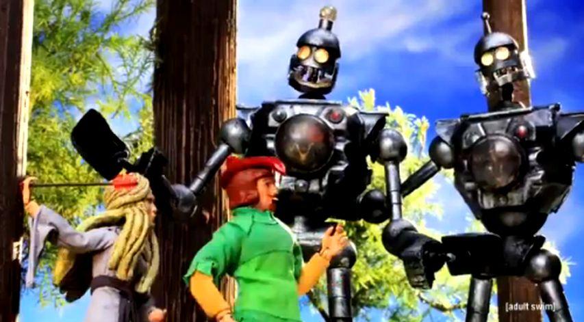 Кадр из мультсериала «Робоцып»