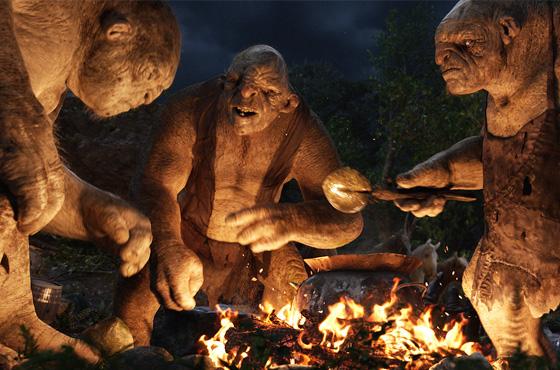 Кадр из фильма «Хоббит»